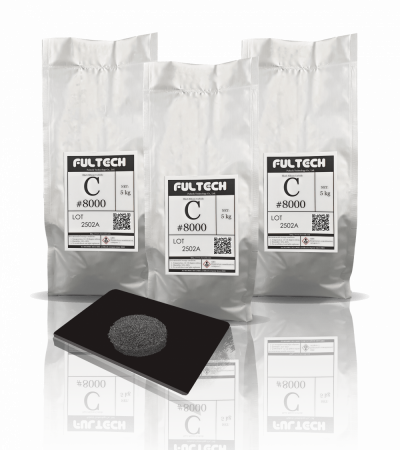black Silicon Carbide packing shot Fultech